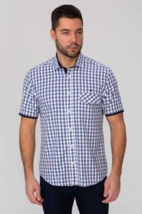 рубашка мужская рукав короткий